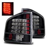 SPPC Black LED Tail Lights For Chevy S-10 / G.M.C Sonoma - Passenger and Driver Side