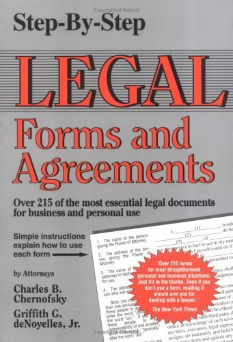 Step-By-Step Legal Forms and Agreements by Charles B. Chernofsky - Lake Shopping Charles Mall