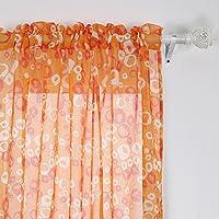 Deconovo Bubbles Circle Printed Linen Look French Door...