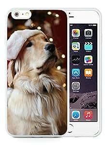 Custom-ized iPhone 6 Plus Case,Christmas Dog White iPhone 6 Plus 5.5 TPU Case 19
