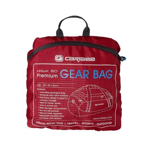 Hawk 60 Sports Holdall (red) - luggage