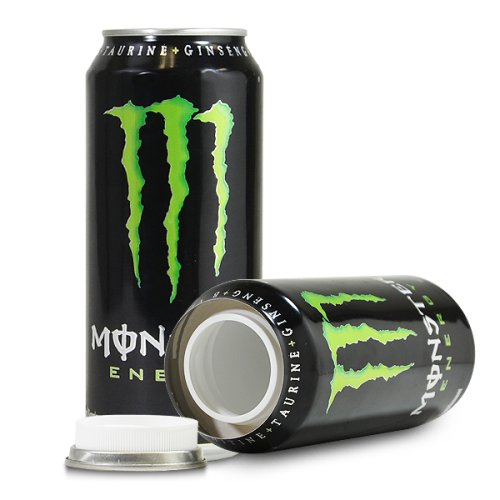 Monster Energy Drink Green Can Diversion Stash Safe (Monster Can Stash compare prices)
