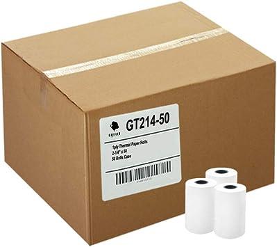 THERMAL PAPER 50 ROLLS INGENICO iCT250 // iCT220 2-1//4 x 85