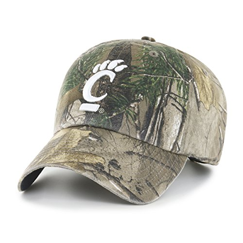 Cincinnati Bearcats Ncaa Baseball - NCAA Cincinnati Bearcats Realtree OTS Challenger Adjustable Hat, Realtree Camo, One Size