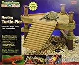 Penn Plax REP602 The Reptology Floating Turtle Pier & Basking Platform Pet House, Small