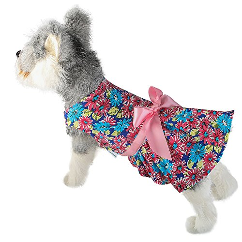 LovinPet Party Dresses For Dogs; Dog Dress & Pet Cats Dresses For Everyday wear, Holiday, Sundress, Party, Valentine'S Day, Festive etc. Fancy Cute Skirt Puppy Vest Dress