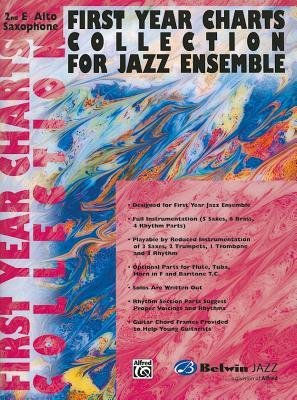 Download [(First Year Charts Collection for Jazz Ensemble: 2nd E-Flat Alto Saxophone )] [Author: Alfred Publishing] [Mar-2001] pdf epub