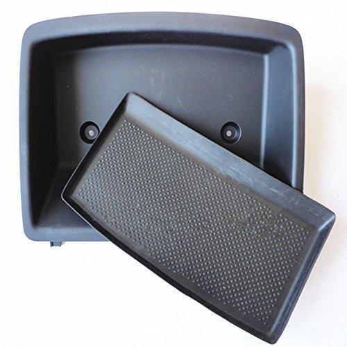 Tray Dashboard Shelf Set Fit For VW Rabbit Golf GTI Jetta MK5 1K0 857 921 D 1QB (Black) (Rabbit Gti)