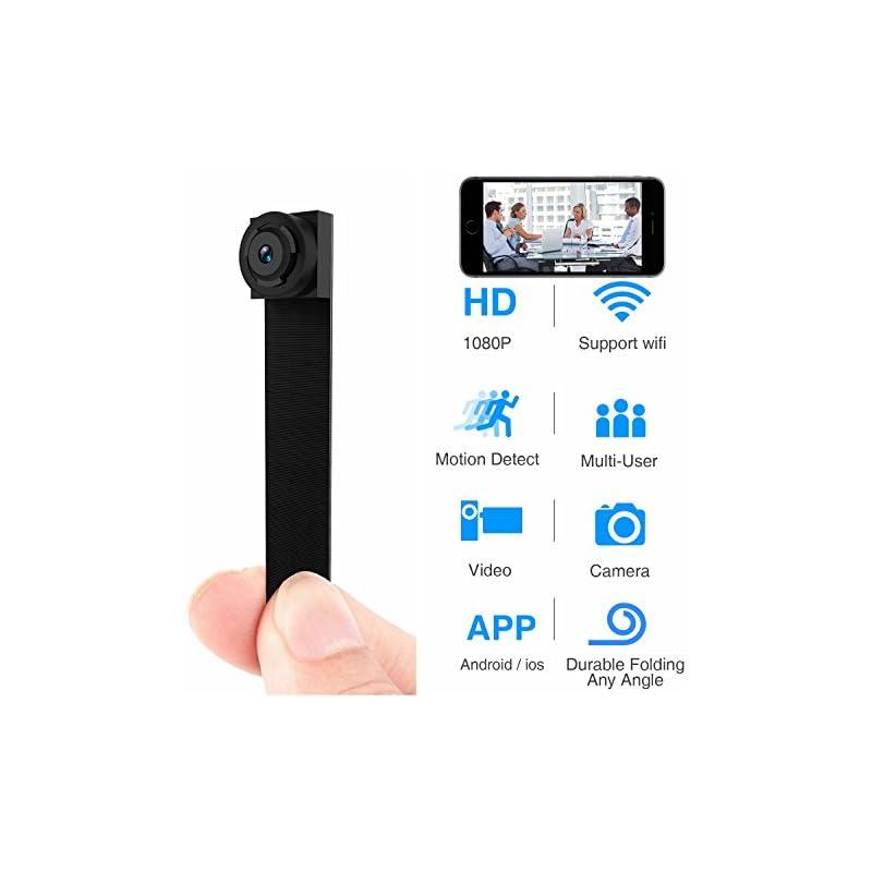Hidden Spy Camera 1080P WiFi Mini Camera