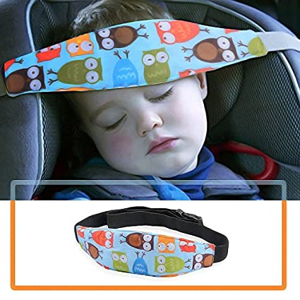 4 Pack Infant and Baby Car Seat Head Support Protection and Safety Head Support for Kids Toddler Child Safety Car Seat Neck Relief Head Strap