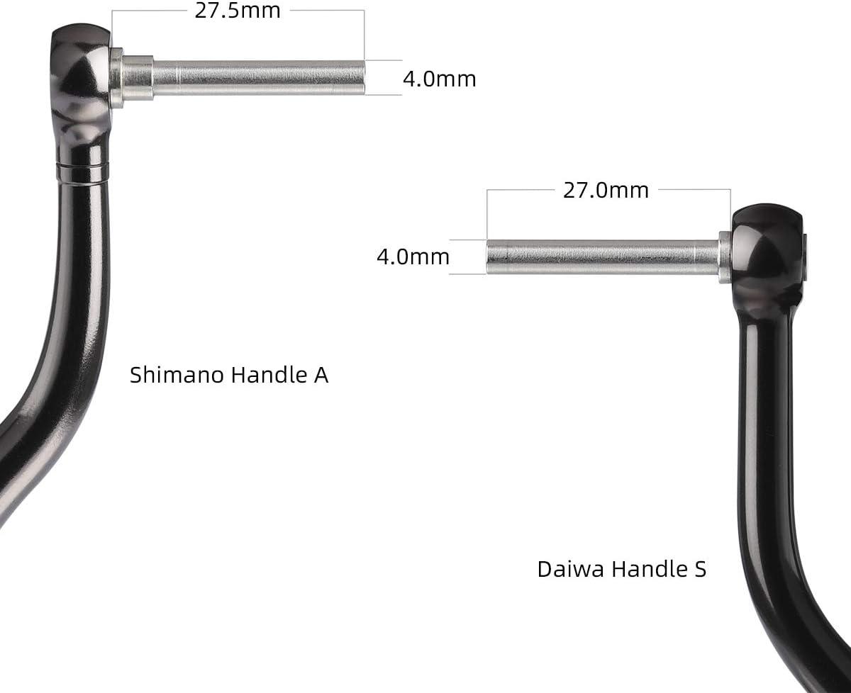 Daiwa Certate 1000 Reel Direct 20mm Gomexus Reel Handle Knob For Stradic CI4