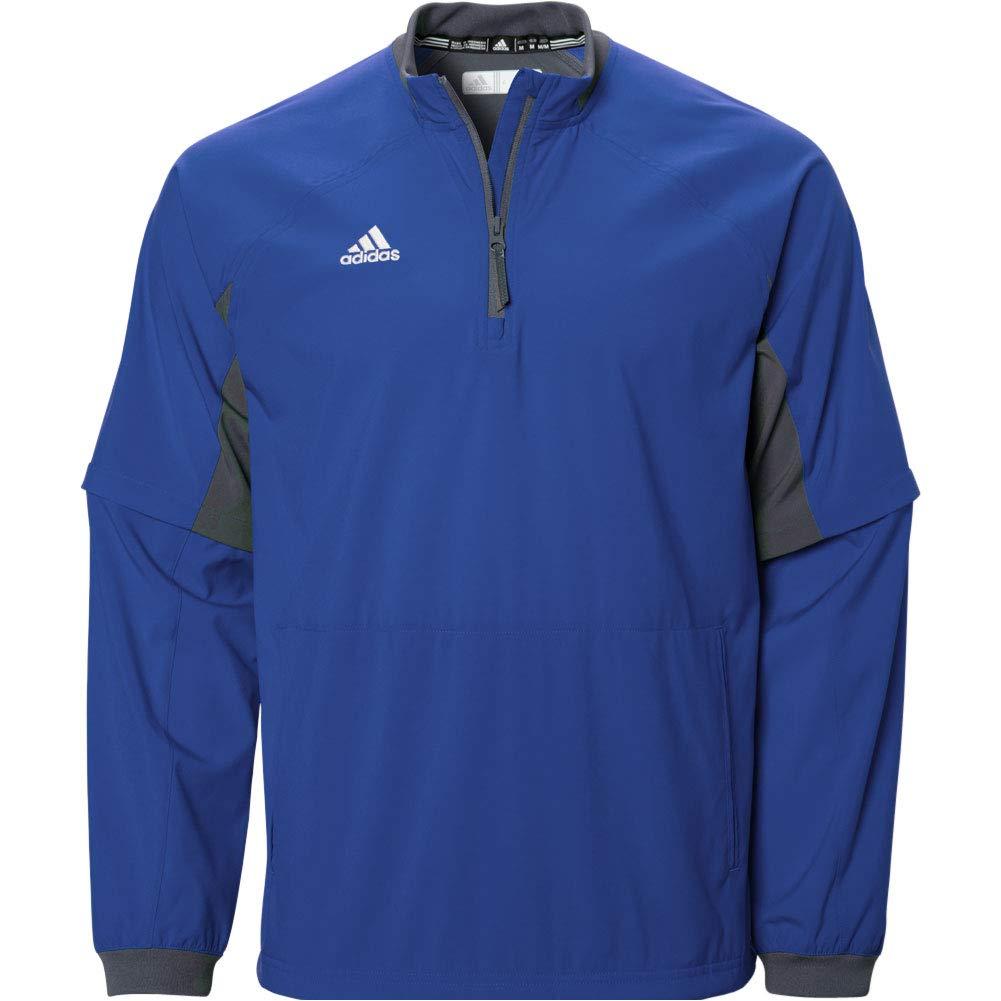 adidas Mens Fielder's Choice Convertible Jacket, Collegiate Royal/Onix Grey, X-Small by adidas