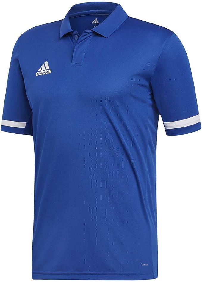 adidas Team 19 Polo - Polo para Hombre, Multideporte, Color Azul y ...
