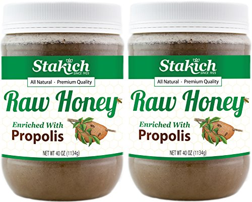 Stakich PROPOLIS Enriched HONEY 5 LB product image