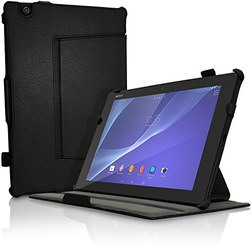 Tablet Case for Sony Xperia Z4 Tablet (Black) - 3