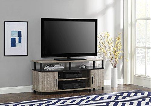 Altra Furniture Espresso Carson 50u2033 Corner TV Stand