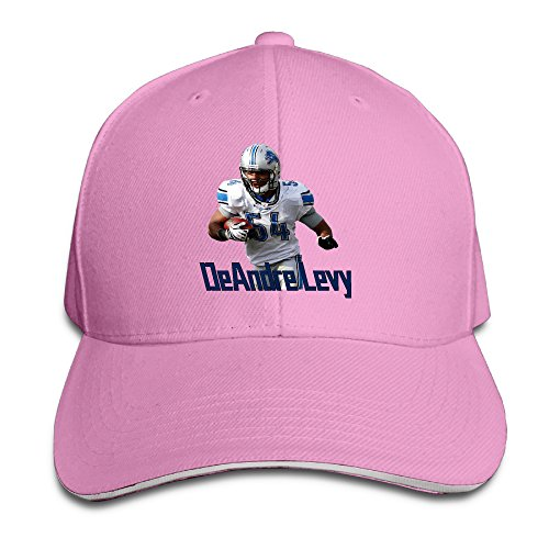 Football Game Time Trucker Hats (Show Time DeAndre Levy Unisex Trucker Hat Adjustable Hat Pink)