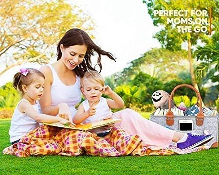 Amazon.com: KENGA Baby Diaper Caddy Organizer: Portable ...