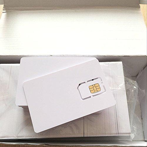 AHongem Writable Programmable Blank SIM USIM Card 4G LTE WCDMA GSM Nano Micro SIM Card 2FF 3FF 4FF for Telecom Operator (5-piece) by AHongem (Image #2)