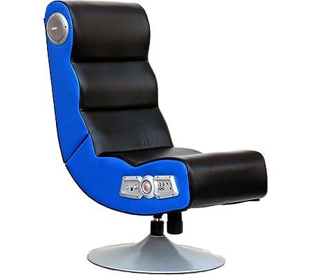 Delightful X ROCKER Orion Wireless Gaming Chair   Black U0026 Blue