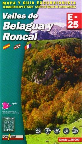 Descargar Libro Valles De Belagua Y Roncal, Mapa Excursionista. Escala 1:25.000. Español, Français, Euskara. Alpina Editorial. Vv.aa.