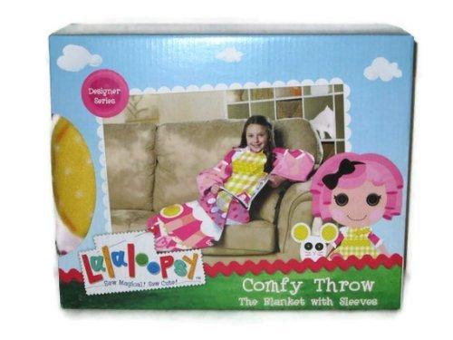 Lalaloopsy Crumbs Sugar Cookie Comfy Throw Blanket with Sleeves Designer -