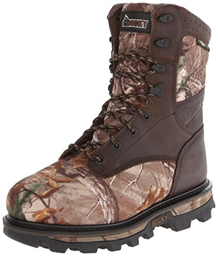 Steniga Mens 9 Tum Arktos 046 Snö Boot Brown / Real Träd