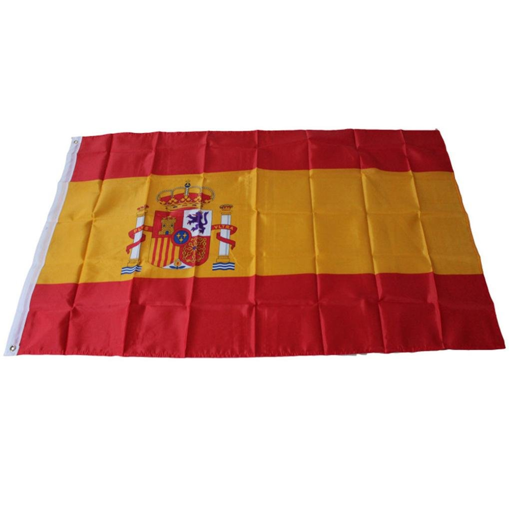 Paellaesp España Bandera Para Deportes Fútbol Baloncesto ...