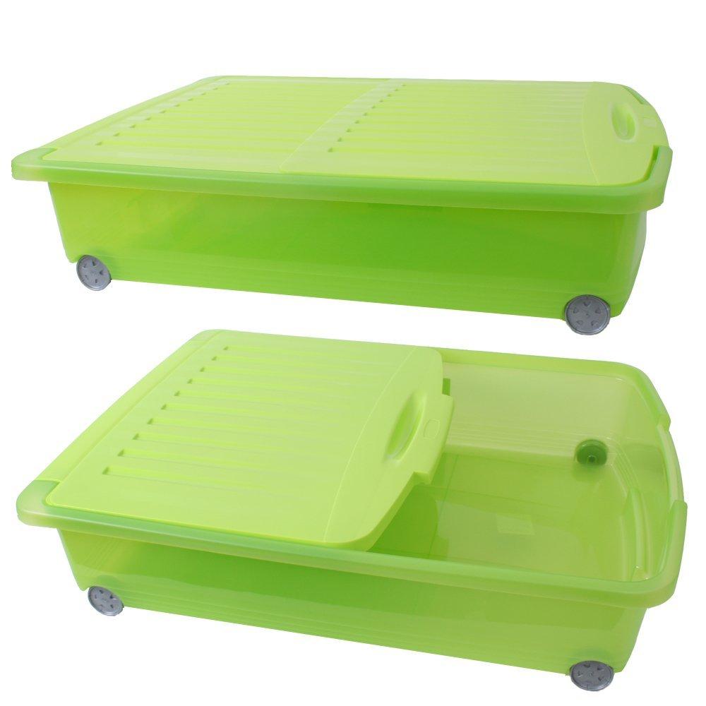 CURVER Schäfer - Bolsa de almacenaje cubrecama de Caja Ropa rollbox 50L Selección: Amazon.es: Hogar