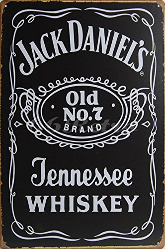 Jack Daniels : Tennessee Whiskey, Metal Tin Sign, Vintage for sale  Delivered anywhere in Canada