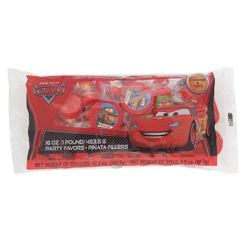 Disney Cars Pinata Filler, Assorted 1lb