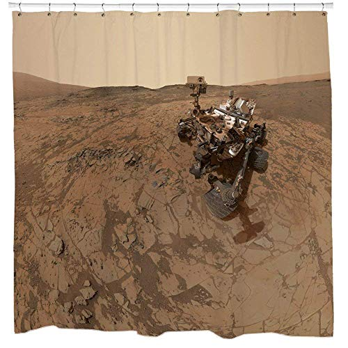 Afagahahs Rover On Mars Shower Curtain ()