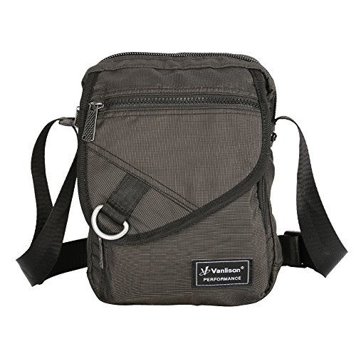 Kindle Bag (Vanlison Crossbody Small Shoulder Bag Messenger Sling Pack Satchel Lightweight for iPad Kindle Black)
