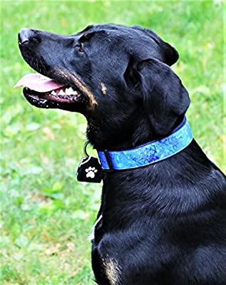 Peace Tag (Black) Dog Tag Silencer by Woof