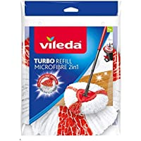 Vileda Easy Wring & Clean Turbo 2en 1Mopa Microfibra Cabeza