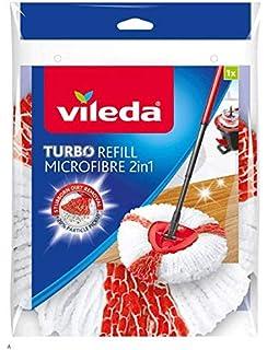 Vileda TURBO 2in1 - Recambio Microfibras y Poliamida