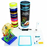 3Dmate Trio - Complete 3D Printing Pen Design Kit Including 3D Pen Multifunctional Design Mat and 500ft of Multicolor PLA Filament