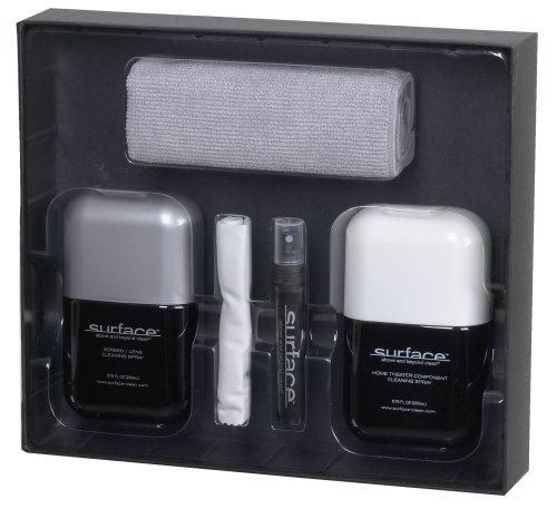 Audiovox Surface SURF200KIT Screen and Lens Cleaning Kit for Home Theater and AV Components by SURFACE