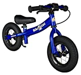 BIKESTAR Original Safety Lightweight Kids First Balance Running Bike with Brakes and with air Tires for Age 2 Year Old Boys and Girls | 10 Inch Sport Edition