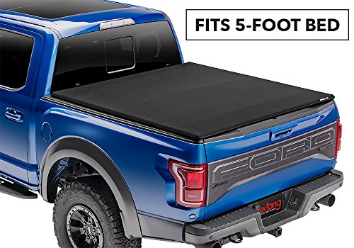 Trifecta Signature 2.0 Soft Folding Truck Bed Tonneau Cover | 94636 | fits 2019 Ford Ranger, 5' Bed