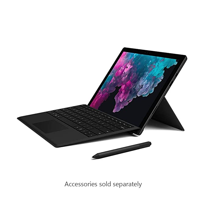 Microsoft Surface Pro 6 (Intel Core i5, 8GB RAM, 256 GB) - Black