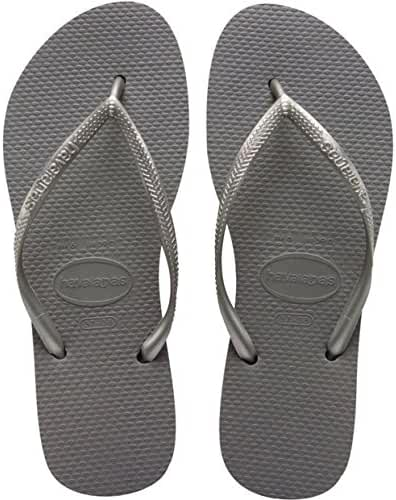 Havaianas Women's Hav Slim 4000030.0001.356 White Rubber Flip Flops 3-4 UK 35-36 BR, 4-5 US