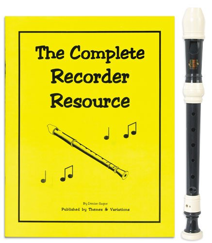 Harmony 3 Piece Recorder Pack with Complete Recorder Resource Kit Vol. 1 by Denise ()