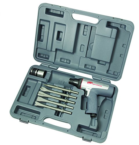 Ingersoll Rand 122MAXK Short-Barrel Vibration-Reduced Air Hammer Kit, (Air Hammer Chisel Set)
