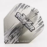 5 x Sets of Target Phil Taylor Vision Edge Standard Grey Dart Flights