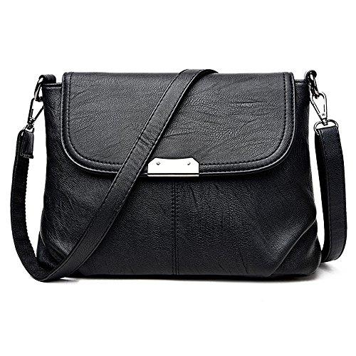Bandoulière Mode Dame Main Nouveau Sac Unique Meaeo À À Black Épaule De Unique black Simple Sac XPWS0q