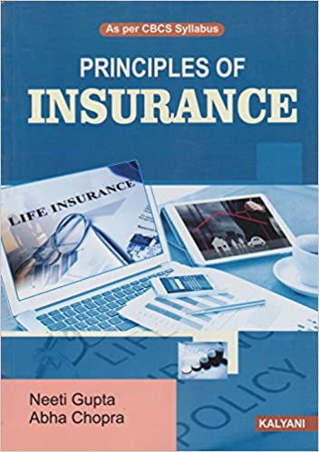 Principles Of Insurance Book
