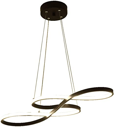 Lámparas de Araña Modernas Led Mesa de Comedor, Restaurante Cálido ...
