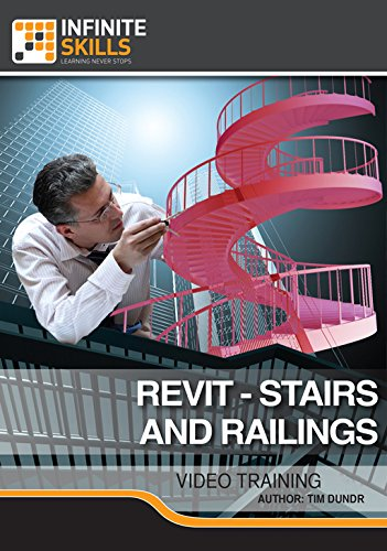 Revit - Stairs And Railings [Online Code]