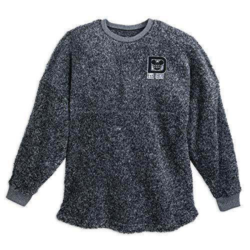 (DisneyParks Walt Disney World Fuzzy Spirit Jersey for Women (Large) Grey)